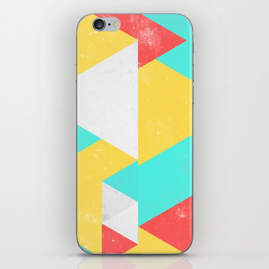 Triangle Pattern I iPhone & iPod Skin