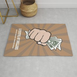 A Fistful Of Dollars - Alternative Movie Poster Rug