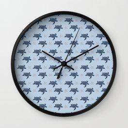 Sea Turtles and Shells Wall Clock