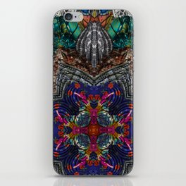 Psychedelic Botanical 16 iPhone Skin