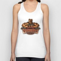 pitbull Tank Tops featuring PITBULL RIDERS by gtrullas