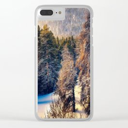 Terra Incognita by Lena Owens Clear iPhone Case