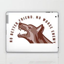 German Shepherd Dog Text Laptop & iPad Skin
