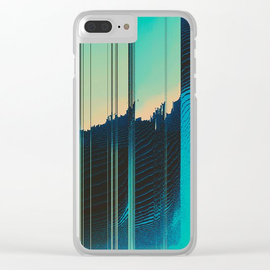 Ripped Apart Clear iPhone Case