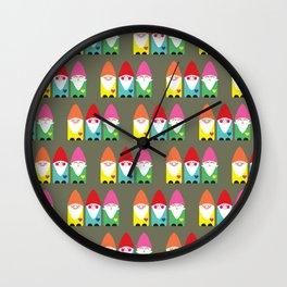 BFF Gnomes I Wall Clock