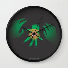 the graeae eye Wall Clock
