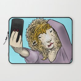 Sheep Selfie Laptop Sleeve
