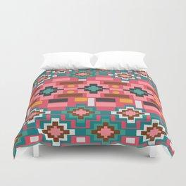 Multicolored joyful shapes Duvet Cover