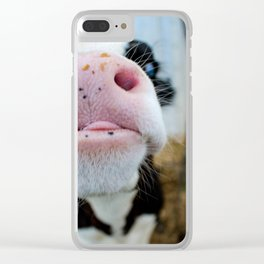 Silly Calf Clear iPhone Case