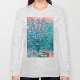 TREES AND ZEBRAS Long Sleeve T-shirt