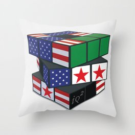 The U.S. Has No Dog In The Fight In Syria Throw Pillow