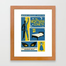 The Nightman Cometh Framed Art Print