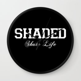 SHADED Skate Life 2 Wall Clock