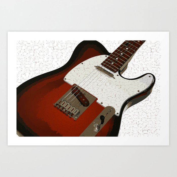 Electric Guitar Kunstdrucke