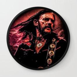 Lemmy plays loud Wall Clock