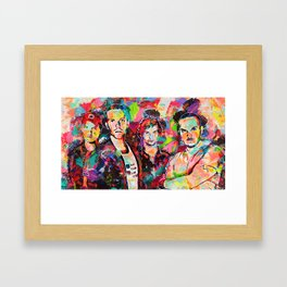 Best Rock Band Framed Art Print