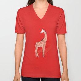 Animal Kingdom: Giraffe I Unisex V-Neck