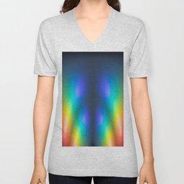 Colour burst Unisex V-Neck