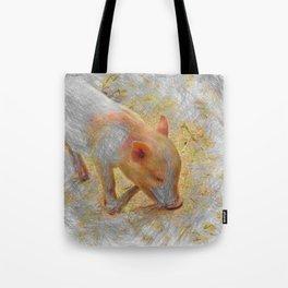 Artistic Animal Piglet Tote Bag