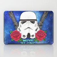 stormtrooper iPad Cases featuring Stormtrooper by Larissa