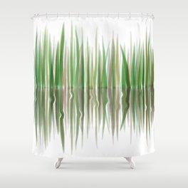 Reed Phragmites Australis Shower Curtain