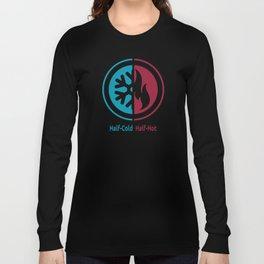 Half-Cold Half-Hot Long Sleeve T-shirt