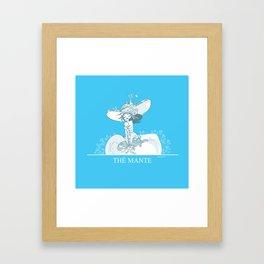 Thé Mante Framed Art Print