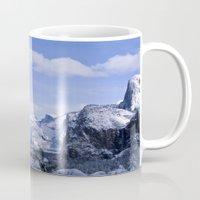 yosemite Mugs featuring Yosemite by Ian Bevington
