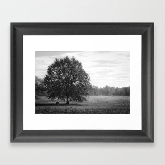 Some Time Ago Framed Art Print
