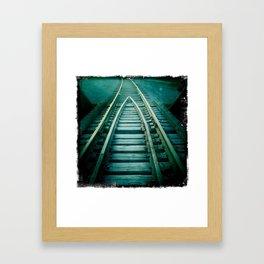 track #1 Framed Art Print
