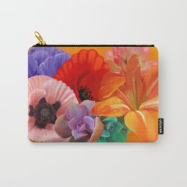 Gold Bouquet Carry-All Pouch
