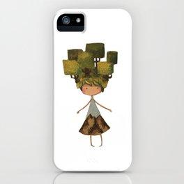 Tree head iPhone Case