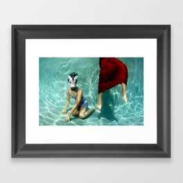 The Handler Framed Art Print