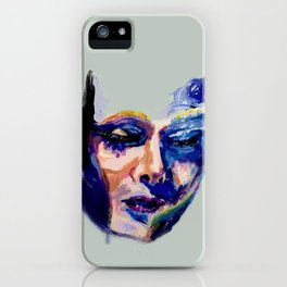 Face in Acrylic iPhone Case