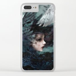 Past Clear iPhone Case
