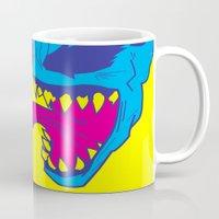 venom Mugs featuring Venom. by Hussein Ibrahim