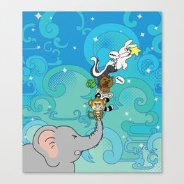 Reaching for the star Canvas Print