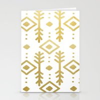 nordic Stationery Cards featuring GOLD NORDIC by Nika