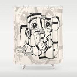 Gopher Man Shower Curtain
