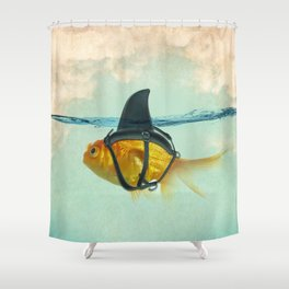 Brilliant Disguise Goldfish Shower Curtain