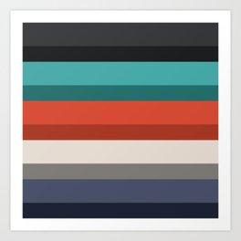 Accordion Fold Series Style F Art Print