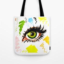 Green eye Tote Bag