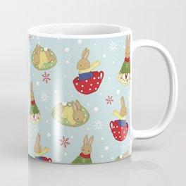 Tea Time in the Snow Coffee Mug