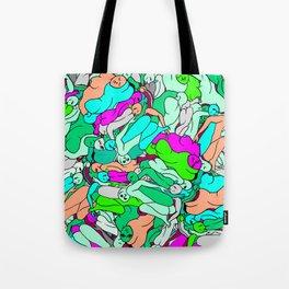 Sleepy Heads - Emerald Green Tote Bag