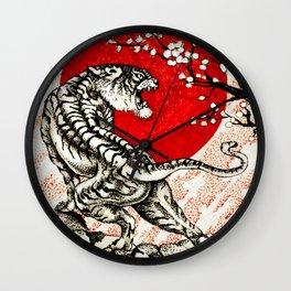 Japan Tiger Wall Clock