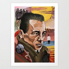 Albert Camus Art Print