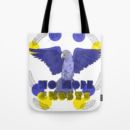 No More Ghosts - Glaucous Macaw Tote Bag