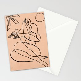 Summer Lines X| Stationery Cards