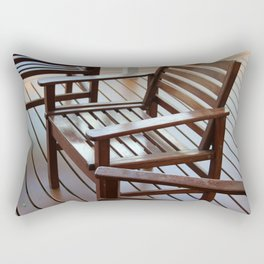 Timber Lines Rectangular Pillow