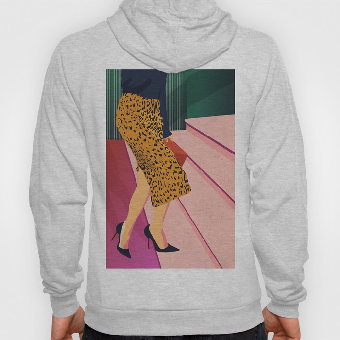 Just steppin' in, and you`re gonna hear me Roar - Fashion illustration Hoody